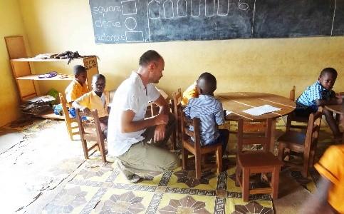 Ghana Klassenzimmer 2